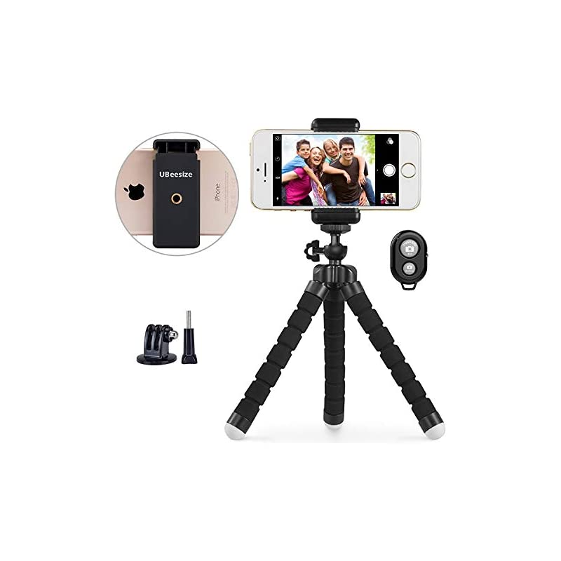 Phone Tripod, UBeesize Portable and Adju