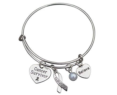 Infinity Collection Cancer Survivor Bracelet, Cancer Awareness, Makes The Perfect Cancer Survivor Gift -