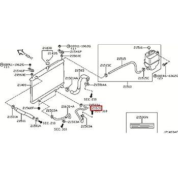 Amazon Com Infiniti Genuine Radiator Shroud Oil Cooler
