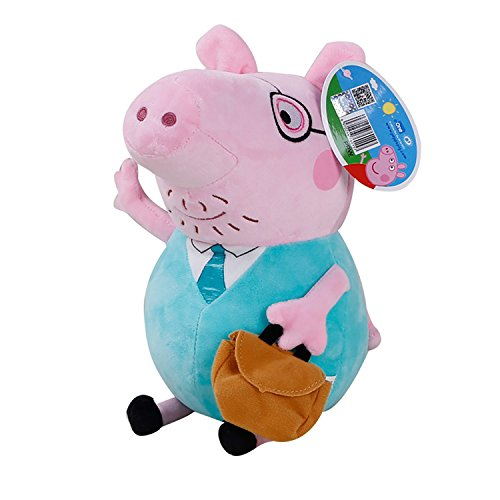 [Peppa Pig Characters,Original Soft Toys:Daddy,Mummy,Peppa &George Pig Available (Daddy Pig)] (Peppa Pig Costume George)