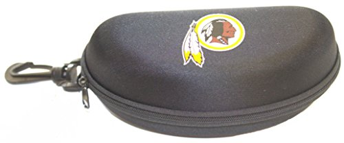 (California Accessories Washington Redskins Semi Hard Zip Up Sunglass Case)