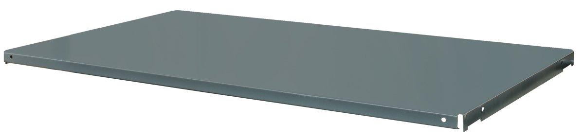 Durham FDC-SH-3618-95 Gray 14 Gauge Welded Steel Extra Shelf for 36'' x 18'' Cabinets, 900 lbs Capacity, 35-1/2'' Width x 16-3/8'' Depth