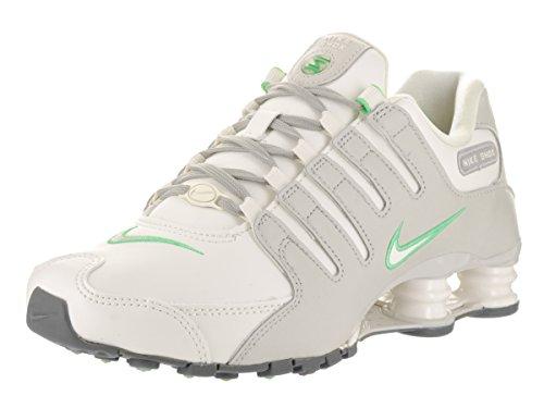 Nike Shox Nz Donne Luce Corrente Scarpa Osso / Vela / Ferro Leggero Minerale