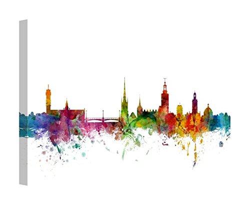- Easy Art Prints Michael Tompsett's 'Stockholm Sweden Skyline' Premium Canvas Art 30 x 20