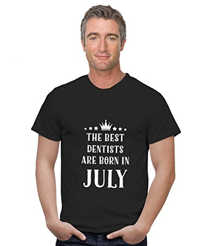 Dentists T Shirt Best Dentists of July Gifts by HOM