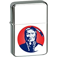 Vector KGM Thunderbird Custom Lighter - Indian Blue Colors High Polish Chrome