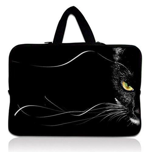 "10"" Laptop Soft Sleeve Case Cover Pouch+Hide Handle Fit 9.7"""