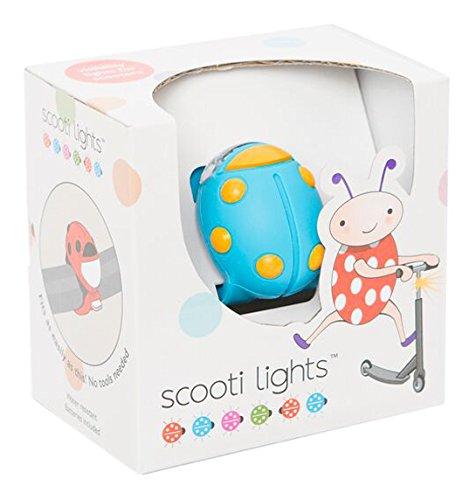 Buggi Lights BUGGISCOOTBOS Scooti Rollerlicht - blau mit orangen Flecken