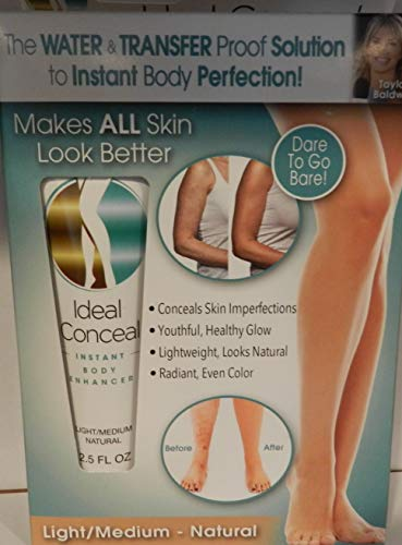 Ideal conceal light/medium natural body enhancer