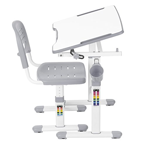 IKAYAA Height Adjustable Children Desk and Chair