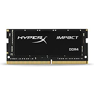 HyperX Kingston 16GB 2400MHZ DDR4 Non-ECC CL14 SODIMM Impact (HX424S14IB/16), Black 41pJ82he%2BeL. SS300