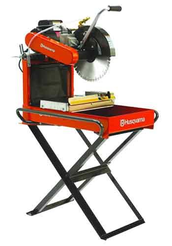 Price comparison product image Husqvarna MS355 Portable Masonry Saw with 2 HP Electric,  Includes Superior Premium 14-Inch MI5 Diamond Blade
