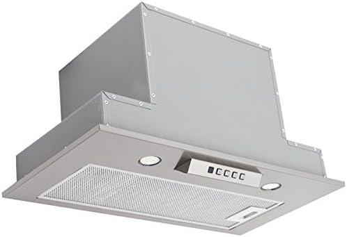 Akpo - Campana extractora wk-6 neva inox / 60cm / 650m3/h - campana extractora de cocina: Amazon.es: Hogar