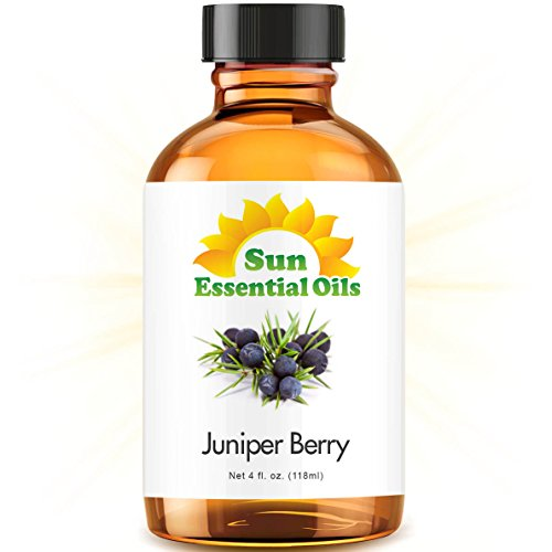 Juniper Berry Essential Oil (Large 4 Ounce) Best Essential Oil
