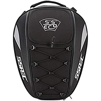 2cc1a6e63a0d Amazon.com: Motorcycle Tail Bag Racing Back Seat Backpack Peak Tail ...