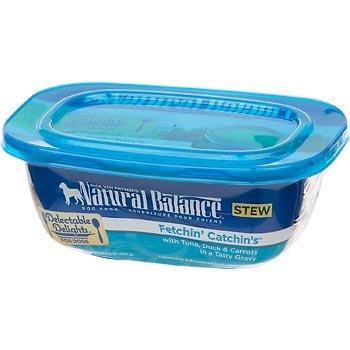 Natural Balance Delectable Delights Fetchin Catchins Stew Formula Adult Dog Food