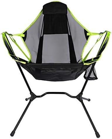 携帯用キャンプチェア、 キャリーバッグと釣り、旅行、ビーチ、ピクニック、バックパッキング、ハイキング、旅行用の折りたたみアウトドアリクライニングチェア