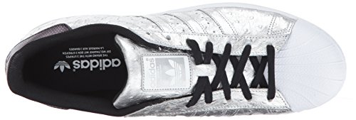 Argento Da Uomo Superstar Adidas Scarpe Superstar Foundation Sportive w0x07ATq