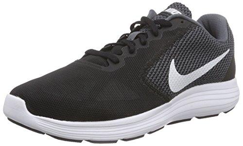 Black Nike 001 Femme Damen Grey Chaussures Course de Dark 3 Laufschuhe White Revolution Gris rU1qaBrw7
