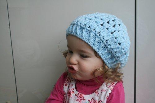 Crochet Pattern Vintage Inspired Beret 51 Newborn Baby Child Teen