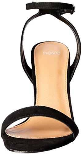 Memphis Fashion Women��s Sandals BLACK Novo Black aKY1ySPHnq