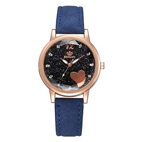 (Fashion Women's Watch Luxury Lady Irregular Mirror Leather Belt Wristwatch,Outsta Analog Quartz Watch Gift for Women Girl Gift Valentine's Day Present 2019 Spring Deals!)
