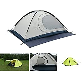 Luxe Tempo 2 Person 4 Season Tents Freestanding for Camping Backpacking Aluminum Poles All Weather Tested & Approved 2…