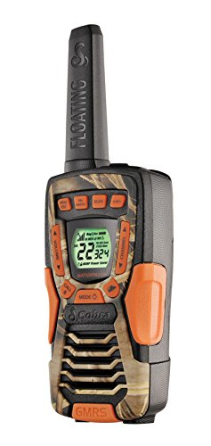 (2) COBRA CXT1045R-FLT-CAMO 37 Mi Waterproof Floating 2Way Radios Walkie Talkies ()