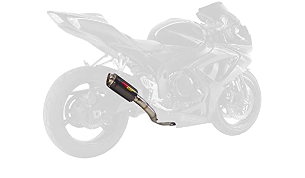 Hotbodies Racing 41102-2400 Carbon Fiber Slip-On MGP Exhaust Canister