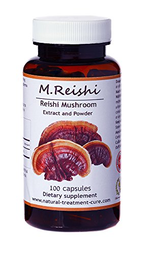 Hekma Center-Uncorrupted Reishi Mushroom Extract and Powder for Immunity and General Well Being-100 Capsule