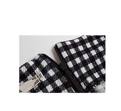 Robe et Noir Poisson De Slim Jupe Pack Queue Houndstooth Blanc De SBL Crayon S Soire Imprime xqYOUn