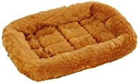 18L-Inch Cinnamon Dog Bed or Cat Bed w/ Comfortable Bolster | Ideal for