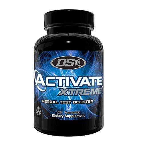 Activate Xtreme – Strong Testosterone Booster – Build Muscle – Boost Free & Total Test – Increase Drive, Stamina & Strength – Boost Vitality, Energy & Endurance – 120 Capsules