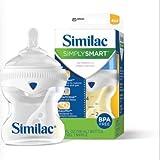 3 Similac Simply Smart Bottles 4oz. Slow Flow Nipple. BPA free. Brand New
