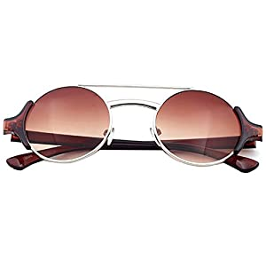 GUGGE Prince Edward Mirror Dual-beam Color Sunglasses