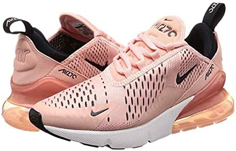 buy popular 4509e 04d4e Nike Air Max 270, Coral Stardust/Black-Summit White (40 ...