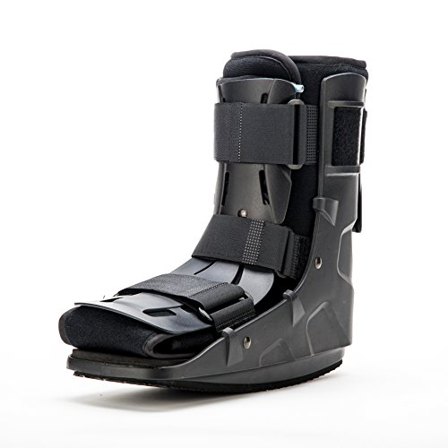 Medibot Short Pneumatic Walker Brace Walking Boot for Stress Sprain Relief M