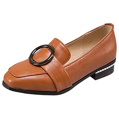 Damen Schuhe Slip 1 Gelb Spring Pumps On COOLCEPT 8qwxn4dT8