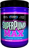 Gaspari Nutrition Super Pump Max, Pre Workout Supplement 40 Servings, Non-Habit-Forming, Sustained Energy & Nitric Oxide Booster Supports Muscle Growth, Recovery & Replenishes Electrolytes, Grape