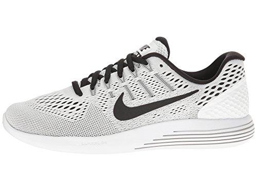 Nike Femmes Lunarglide 8 Chaussures De Course Blanc (blanc / Noir)