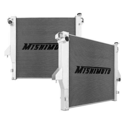 Mishimoto MMRAD-RAM-03 Dodge 5.9L/6.7L Cummins Aluminum Radiator, 2003-2009, Silver