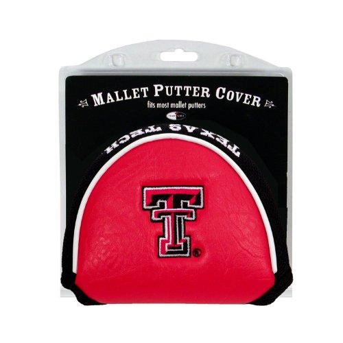 College Golf Putter (NCAA Texas Tech Red Raiders Golf Mallet Putter Cover)