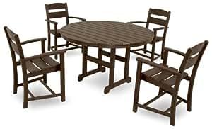 Ivy Terrace IVS109-1-MA Classics 5-Piece Dining Set, Mahogany