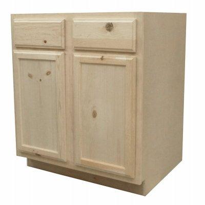 Amazon Com Kapal Kitchens B30 Pfp Unfinished Base Assembled Cabinet