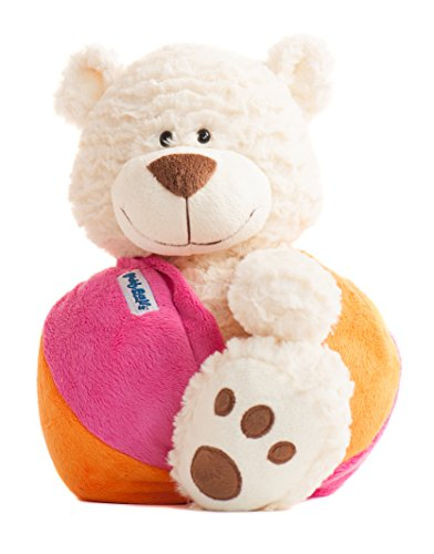MaxLand Toys Buddy Balls Landry Teddy Bear Convertible Toy Ball ()