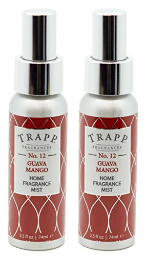 Trapp Home Fragrance Mist, No. 12 Guava/Mango, 2.5-Ounce (2-Pack)