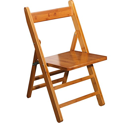 [Bamboo Kids' Folding Chairs,Anti-Slip Lightweight Living Room Fishing Camping Chair Seat for Children] (Bamboo Living Room Folding Chair)