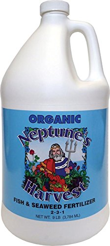 Neptune's Harvest Fish & Seaweed Blend Fertilizer 2-3-1 9lbs