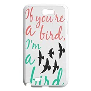 Bird Original New Print DIY Phone Case for Samsung Galaxy Note 2 N7100,personalized case cover ygtg566503 by lolosakes