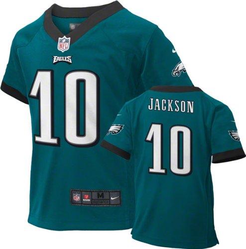 DeSean Jackson Philadelphia Eagles Green NFL Kids NIKE Replica Jersey (Kids 7)
